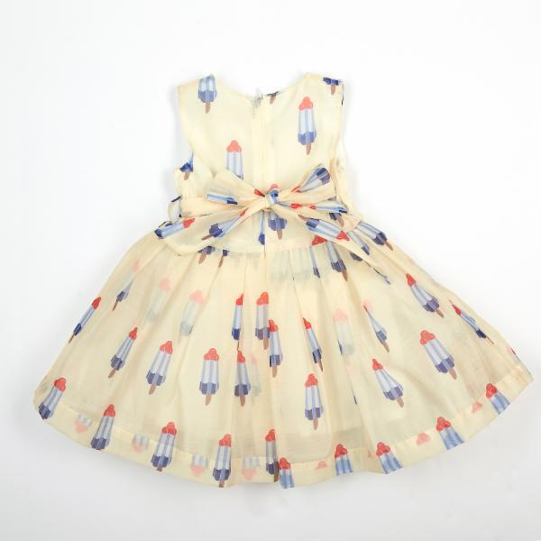 A Line Popsicle Print Dress - Doe a Dear