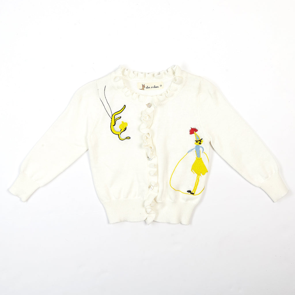 Embroidery Cardi - Doe a Dear