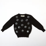 Sequinned Dots Kint Sweater - Doe a Dear