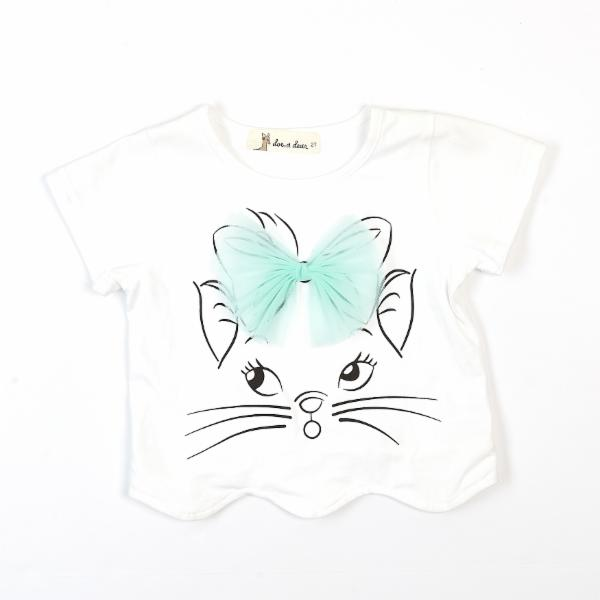 Short Sleeve Cat Top - Doe a Dear
