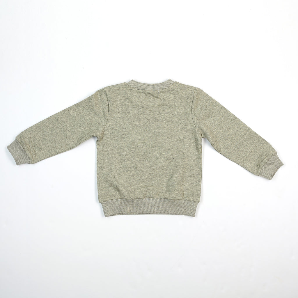 L/S Jersey top with gold foil star - Doe a Dear