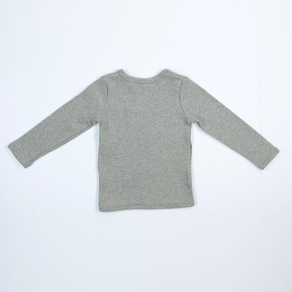L/S Crew Tractor Pocket Top - Doe a Dear