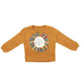 L/S Crew Neck Lion Yarn Mane Sweater - Doe a Dear