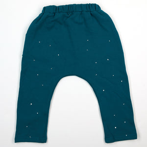Elastic Band Pants w/ White Specks