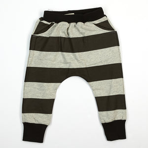 Horizontal Stripe Joggers