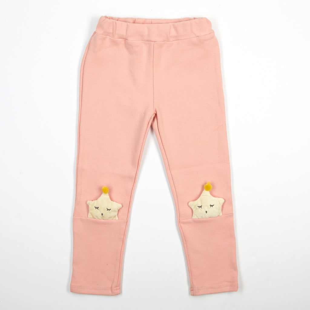 Elastic Waist Sleeping Star Pants - Doe a Dear
