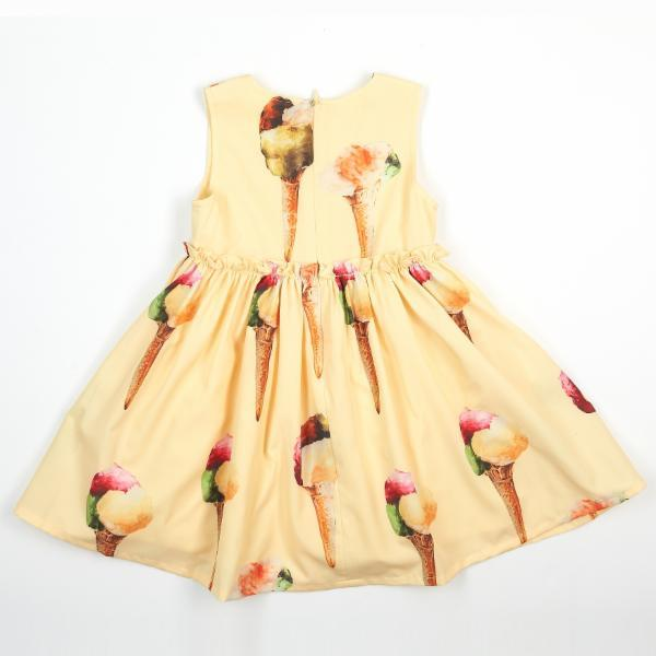 Slvls Empire Wst Dress w/ Ice cream Print - Doe a Dear