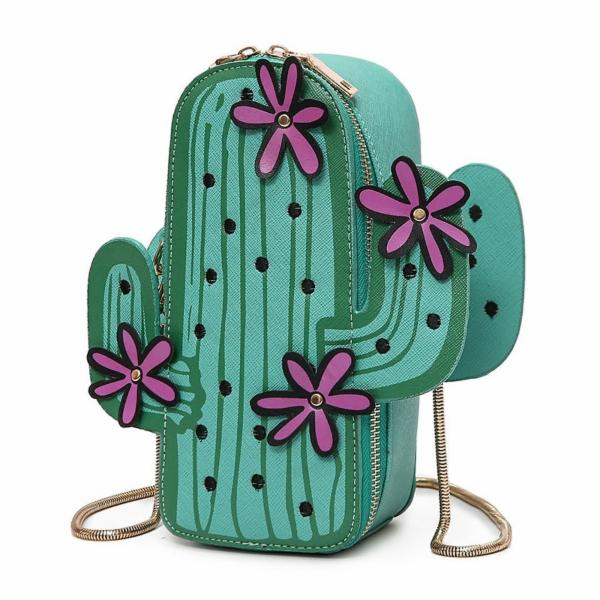 Cactus Chain Crossbody Purse