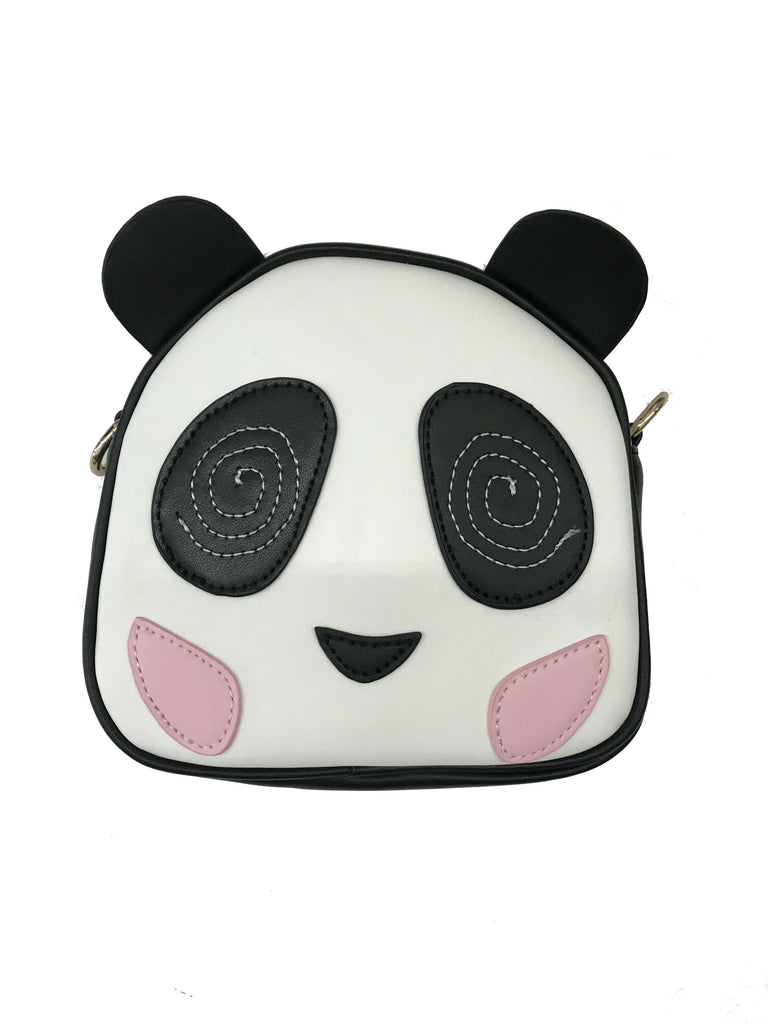 Crossbody Squoval Dizzy Panda Purse - Doe a Dear