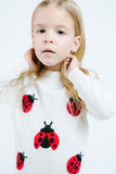 L/S Lady Bug Sweater Tunic - Doe a Dear