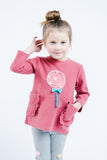 L/S Crew Sweater w/ Lollipop - Doe a Dear