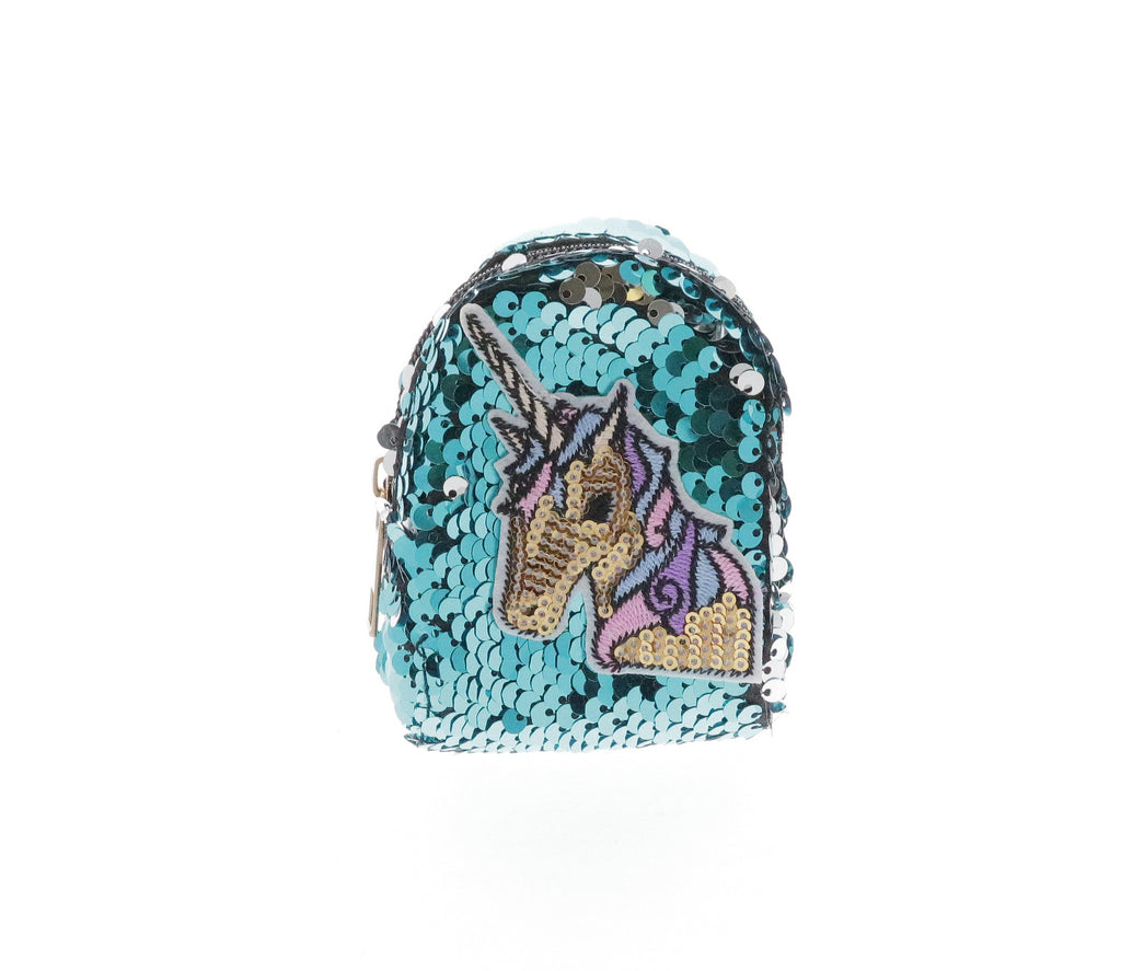 Sequinned Unicorn Coin Purse Key Chain - Doe a Dear