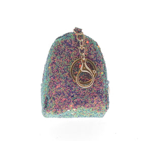 Glittered Ice Cream Coin Purse