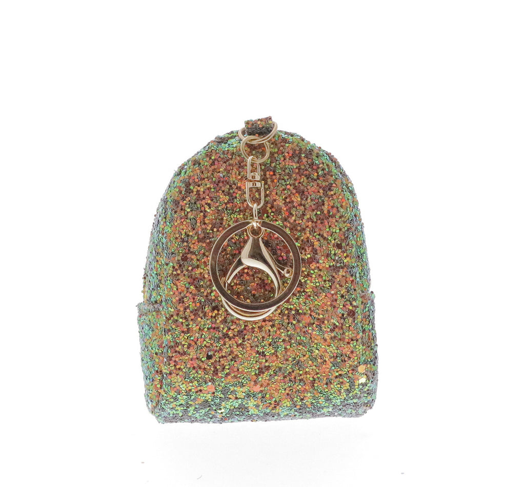 Sequin Rainbow Coin Purse Key Chain - Doe a Dear