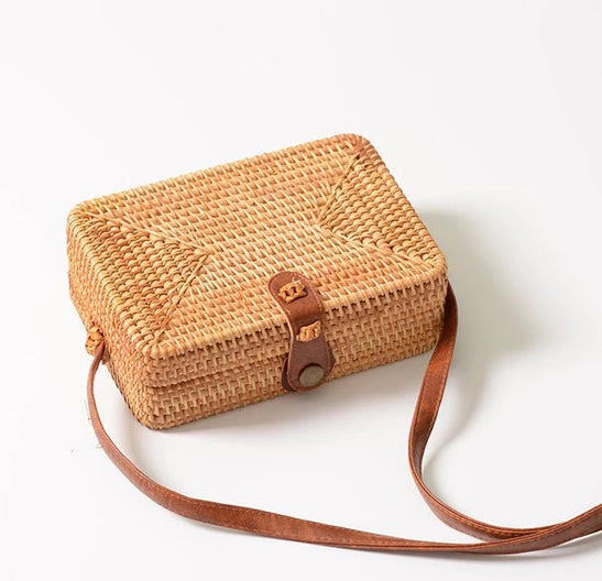 Off To Bali Rattan Bag