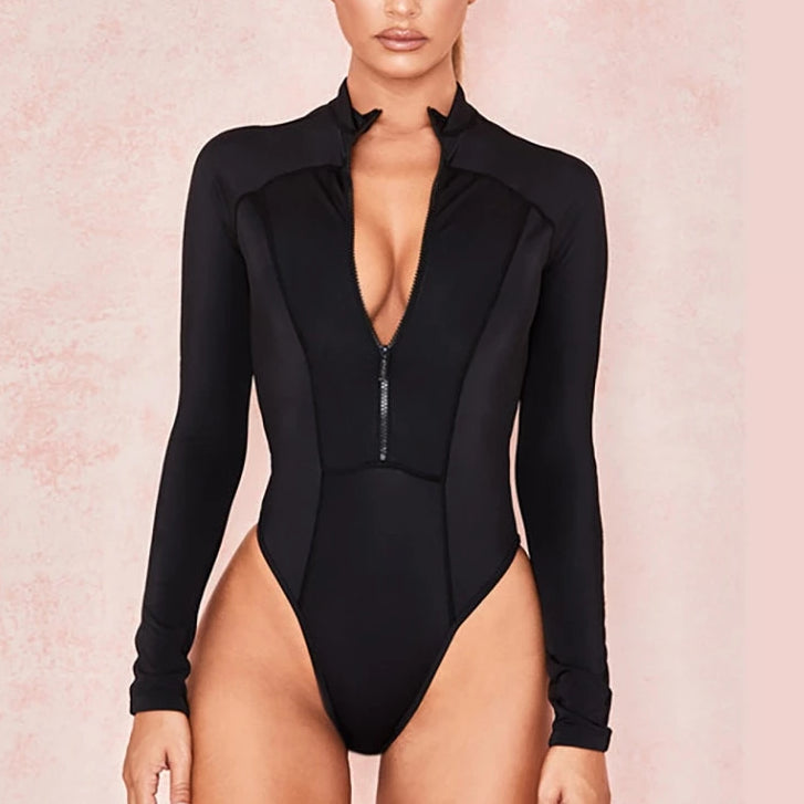 Jessie Black Bodysuit