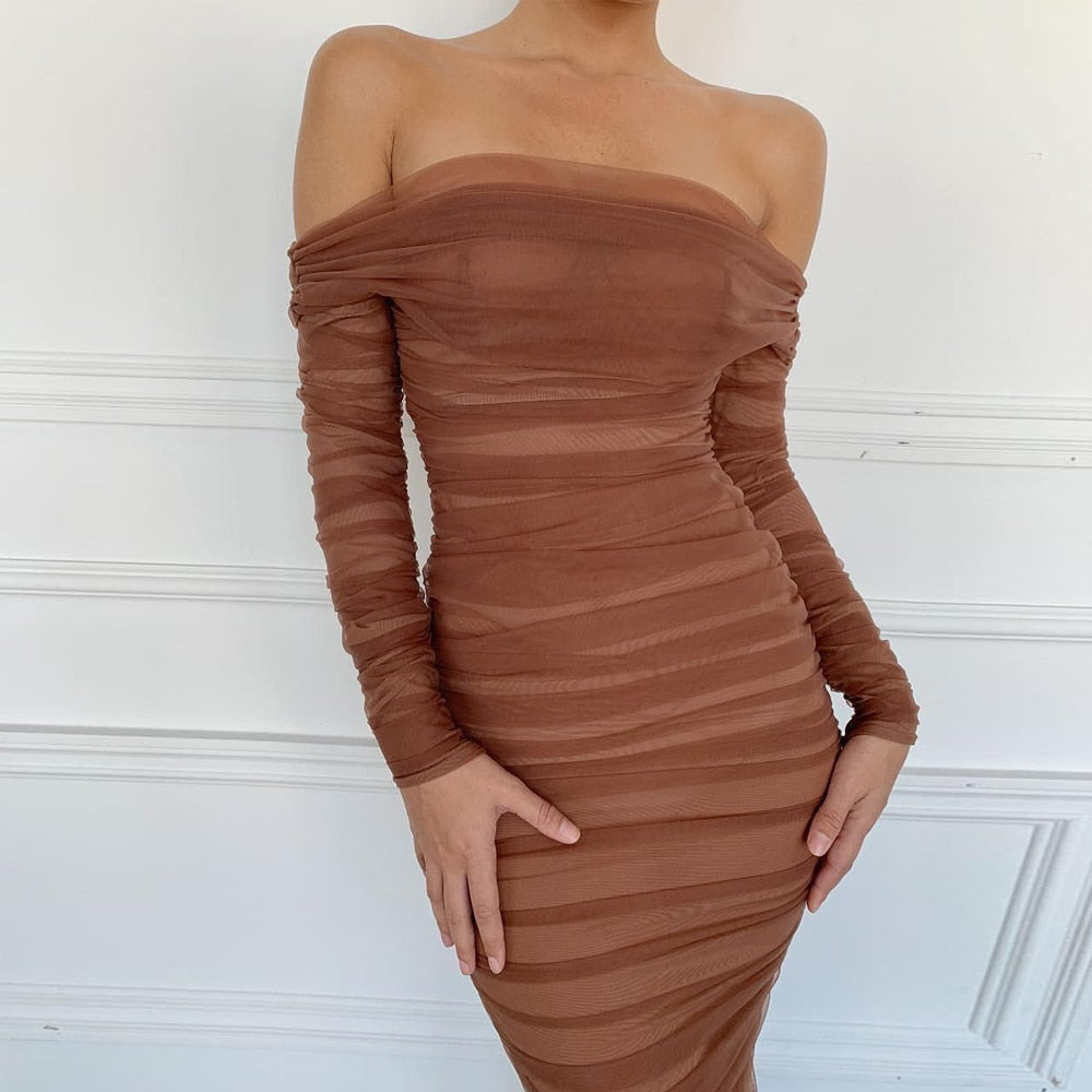 Brown Sugar Bodycon Dress