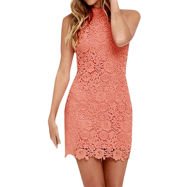 Mazikeen Lace Bodycon Dress