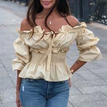 Barbara Beige Top