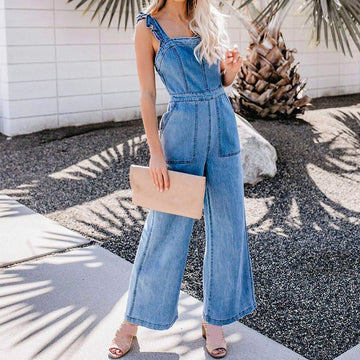 Celeste Denim Jumpsuit