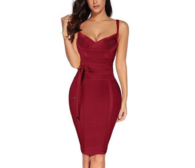 Flaunt It Bodycon Dress