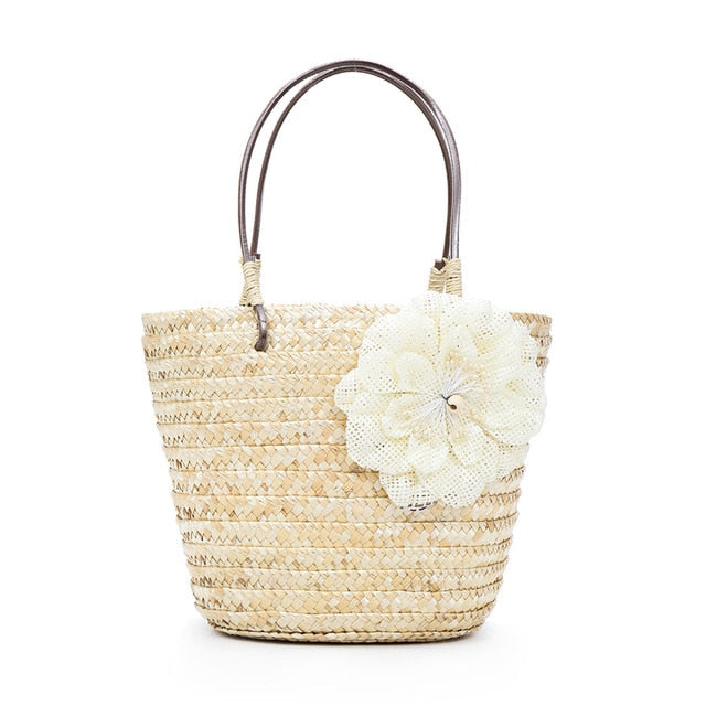 Bloomer Rattan Bag