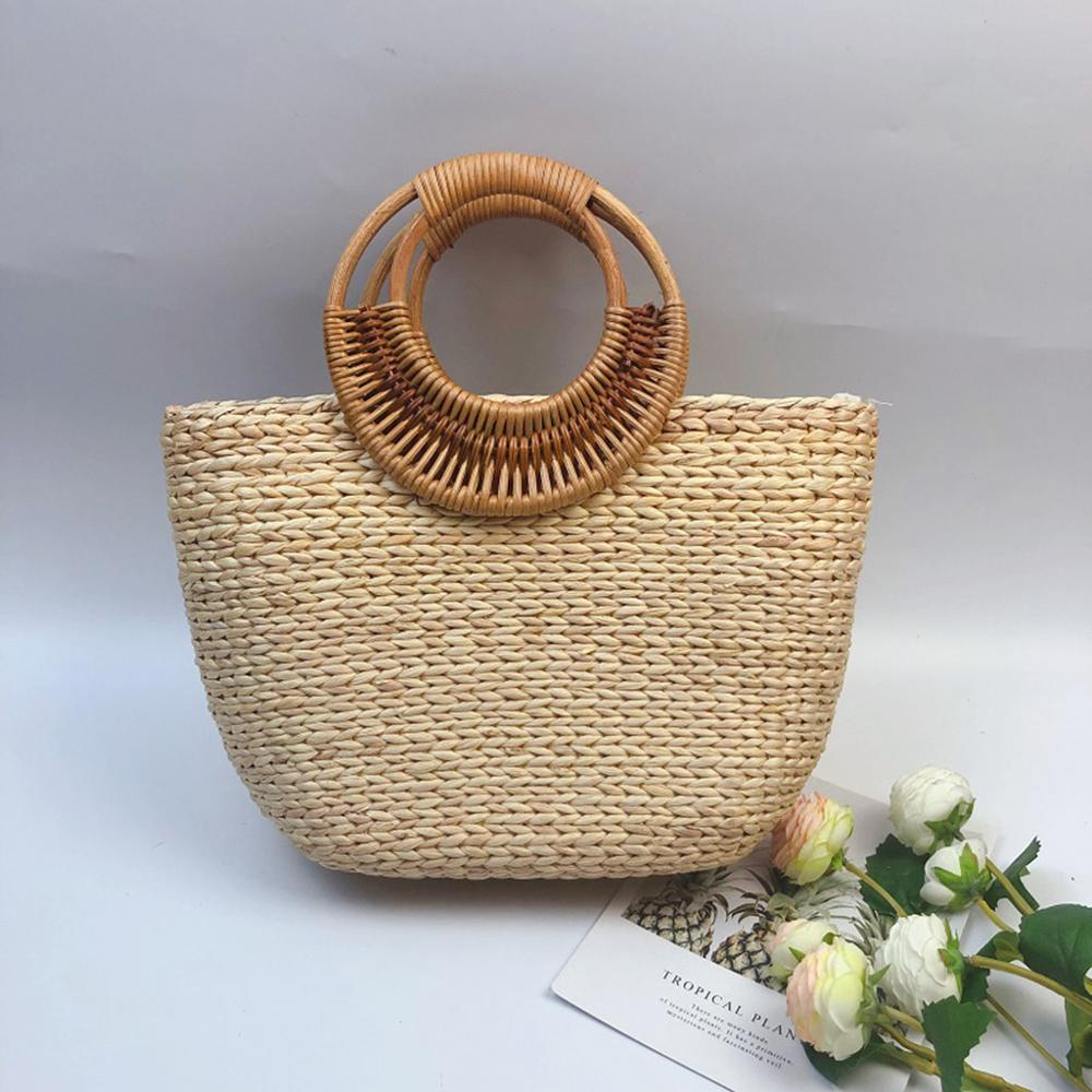Tropical Day Rattan Bag