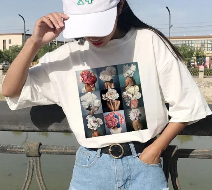 Miss Personality Floral Shirt