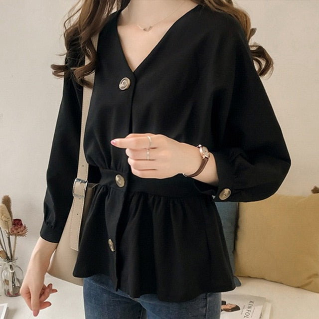 Katrina Ruffled Blouse
