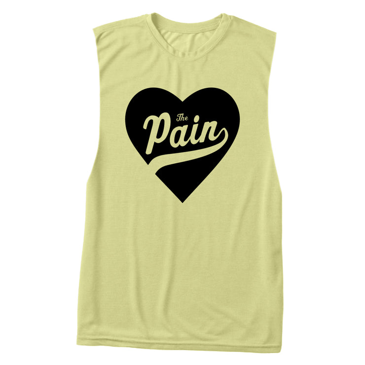 """Heart The Pain"" Muscle Tank"