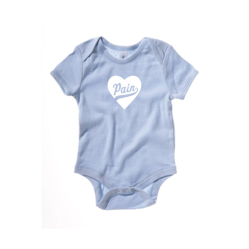 """Pain Heart""- Baby Shirt"