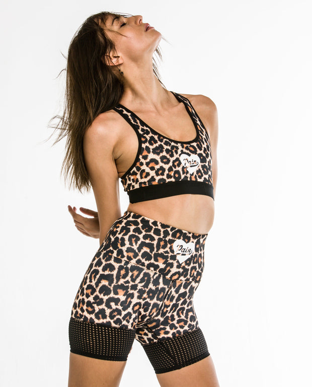 """Leopard"" RUN SPEED SHORTS"