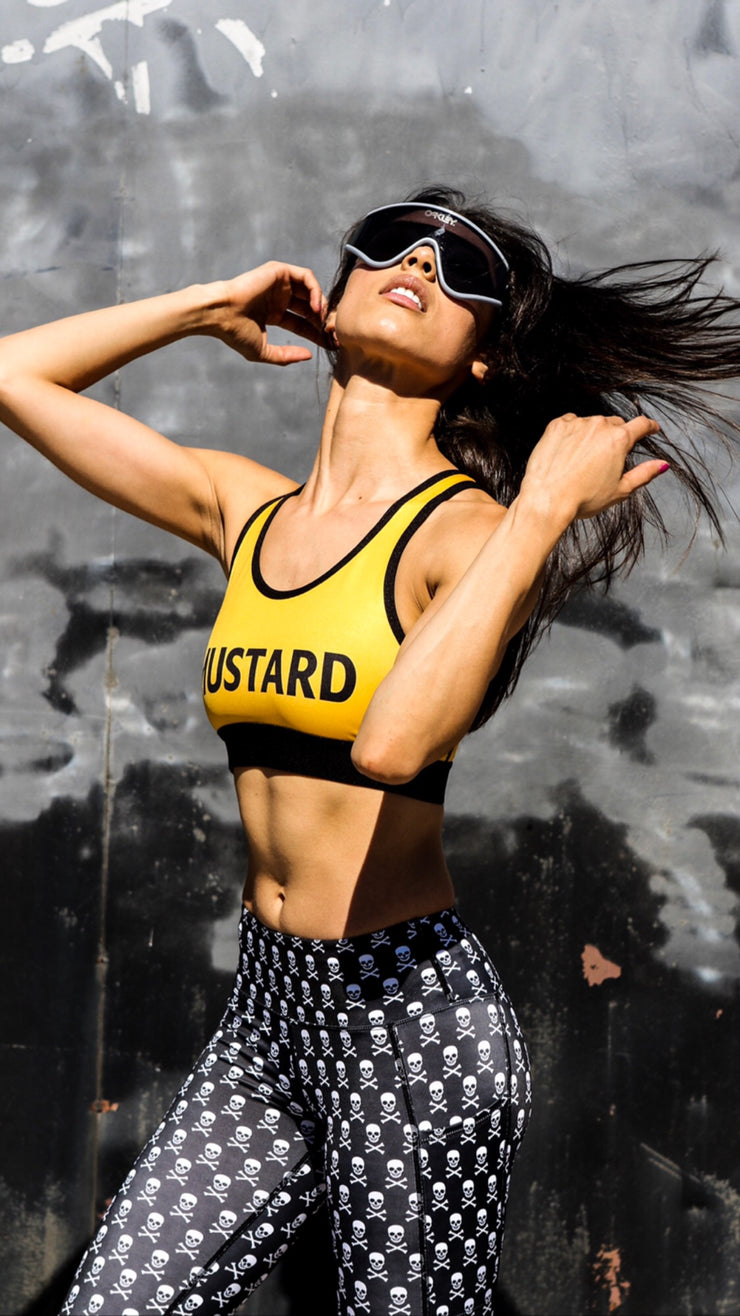 """Mustard"" Crush It Bra"