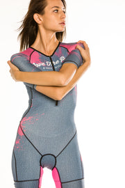 """Denim Splatter"" Speedstream Race Suit (Womens)"