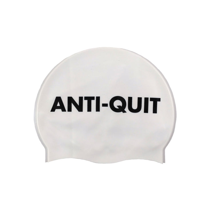 """Anti-Quit"" Swim Cap"