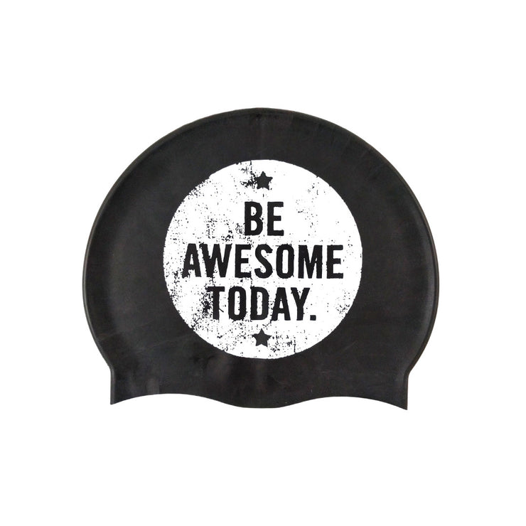 """Be Awesome"" Swim Cap"