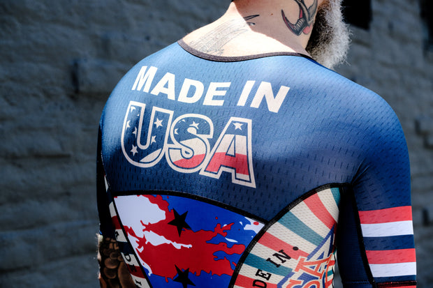 """USA Pride"" FreeMotion 2.0 Aero Suit (Men's)"