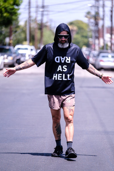 """Rad As Hell"" Action  Performance Hoodie"