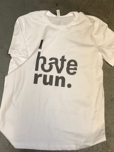 """I HATE LOVE RUN"" Tee"