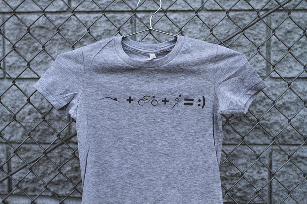 """Math"" Fitted Tee"