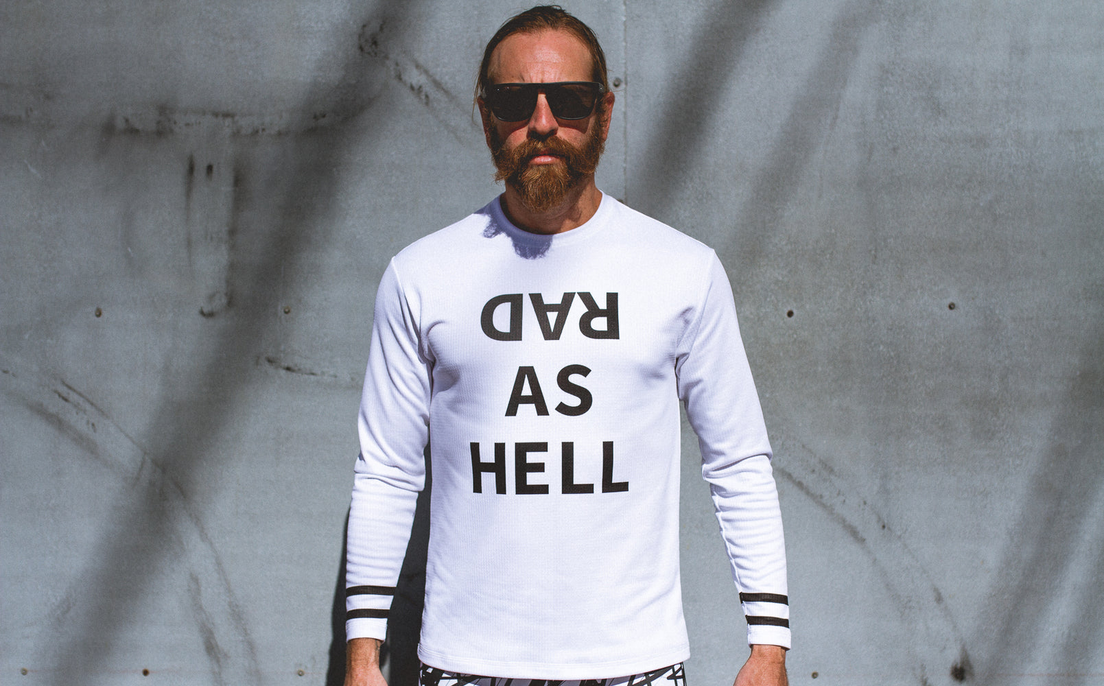 """Rad as Hell"" Performance Run Shirt Long Sleeve"