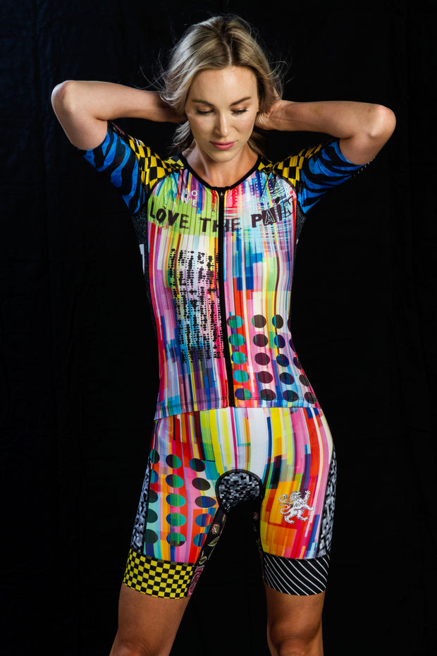"""insane in the membrane"" Freemotion 3.0  Race Suit (Womens)"