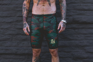 """OS Camo"" Men's Performance Run Shorts"