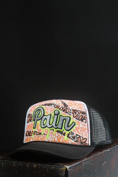 Pain Hat Hand Painted Street Art