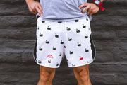 """Swan"" Distance5 Men's Performance Run Shorts"