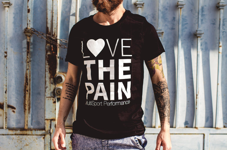 """Love The Pain Stacked"" Tee"