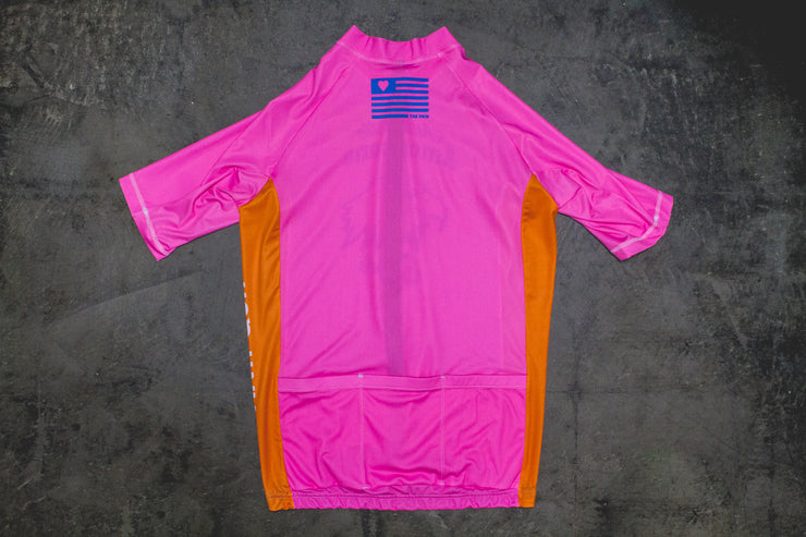 """Mr. Pink"" Aero Race Jersey (Men)"