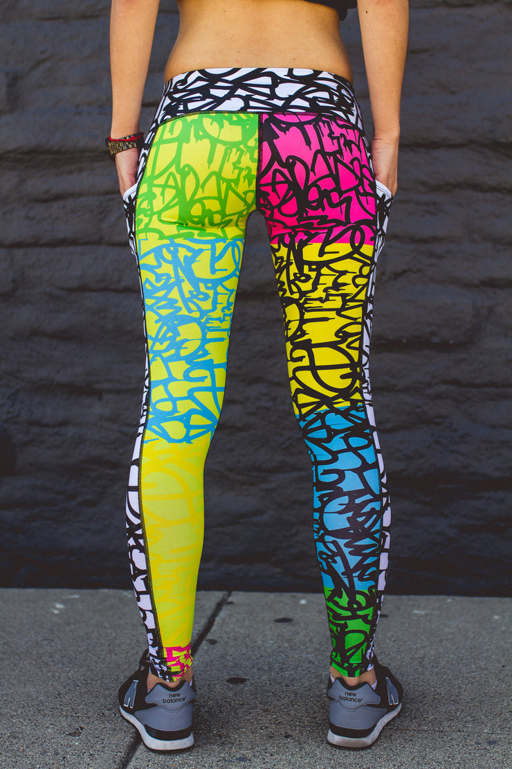 """Dizzy"" Speed Performance Run Tights (Womens)"