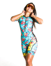 """Flower Infusion"" Speedstream Race Suit (Womens)"