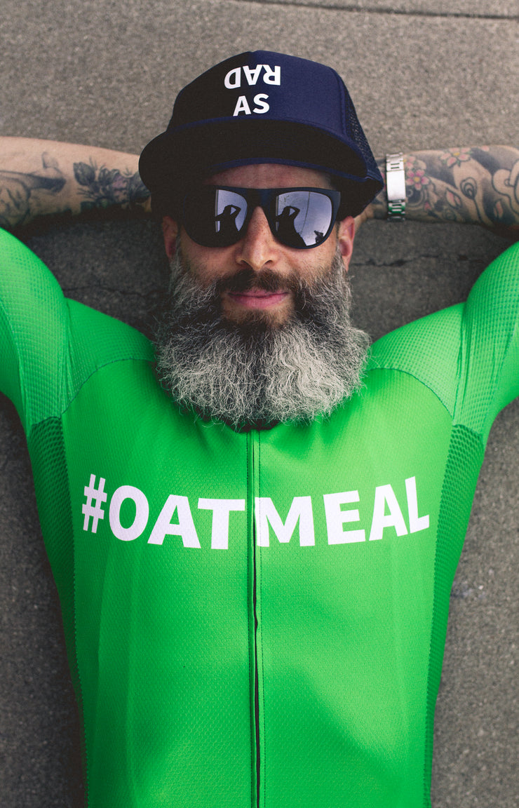 """Oatmeal"" Aero Race Jersey (Men)"